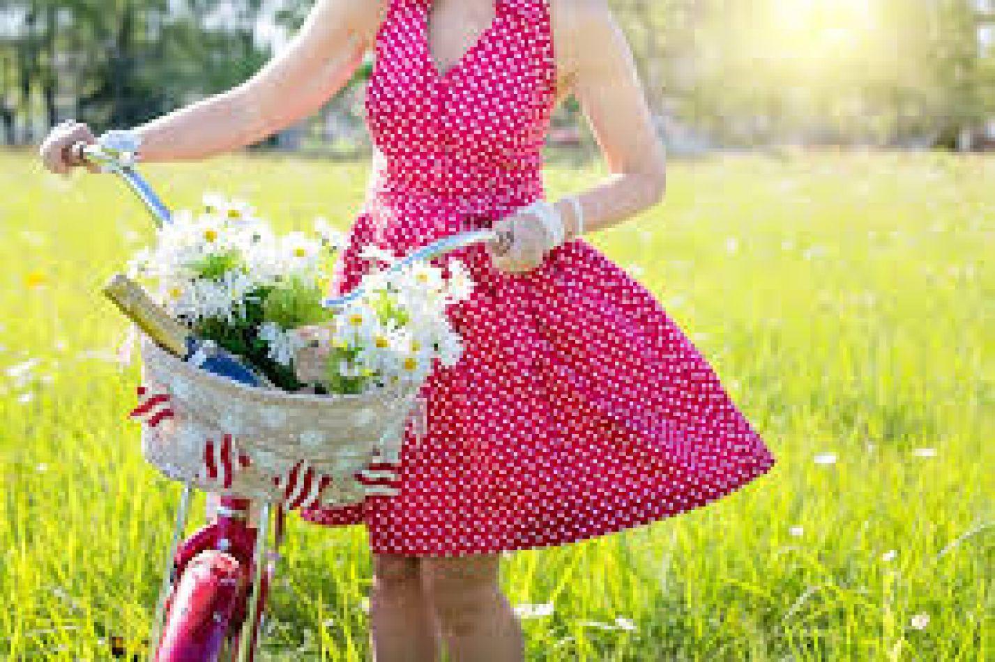 Glamour en bicicleta