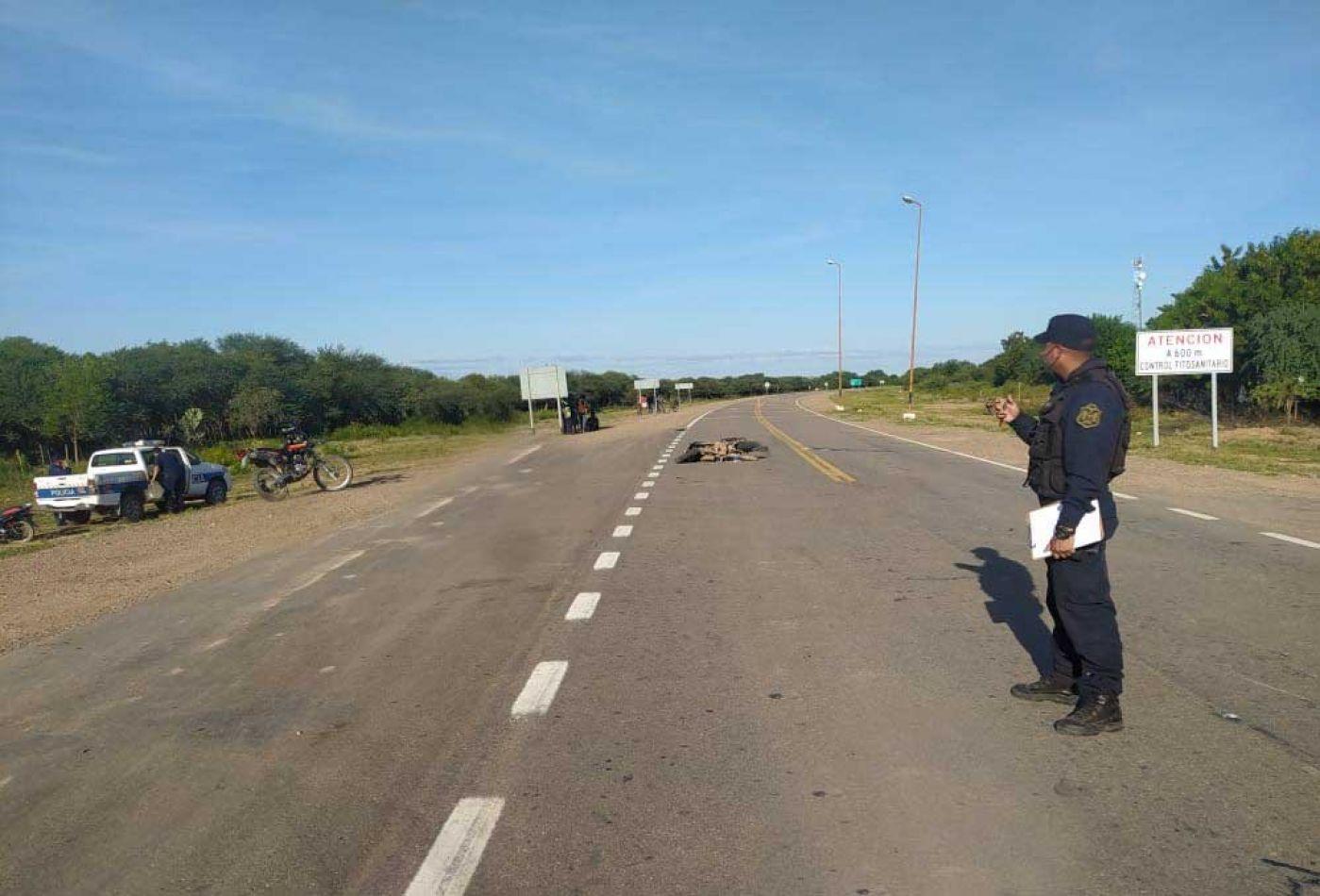 Accidente fatal en ruta nacional 81