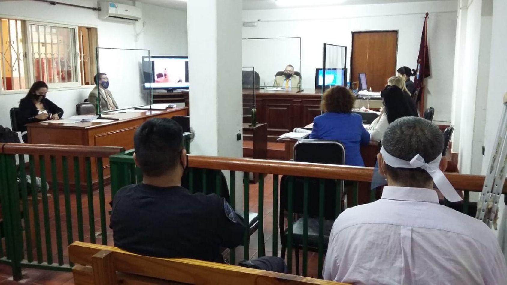 Juicio en tribunales de Orán